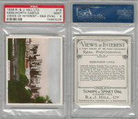 H46-96 Hill, Views of Interest, 1938, #16 Kenilworth Castle, PSA 9 Mint