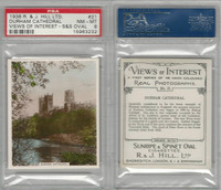 H46-96 Hill, Views of Interest, 1938, #21 Durham Cathedral, PSA 8 NMMT