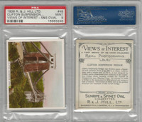H46-96 Hill, Views of Interest, 1938, #48 Clifton Suspension Bridge, PSA 9 Mint