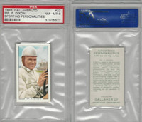 G12-99 Gallaher, Sporting Personalities, 1936, #23 Dixon, Auto Race, PSA 8 NMMT