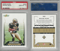 2006 Score Football, #360 Reggie Bush RC, Saints, PSA 10 Gem
