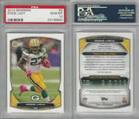 2014 Bowman Football, #2 Eddie Lacy, Packers, PSA 10 Gem