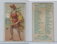N232 Kinney, Surf Beauties, 1889, Asbury Park, NJ (B)