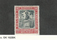Barbados, Postage Stamp, #104 Mint Hinged, 1906