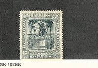 Barbados, Postage Stamp, #110 Mint LH, 1907