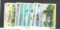 Barbuda, Postage Stamp, #170-175, 178-181 Mint NH, 1974-5