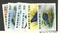 Barbuda, Postage Stamp, #238-243 Mint NH, 1976 Birds
