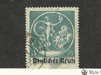 Bavaria (Germany), Postage Stamp, #271 Used, 1920