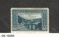 Bosnia & Herzegovina, Postage Stamp, #63 Mint Hinged, 1912