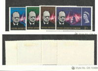 British Antarctic, Postage Stamp, #16-19 Set Mint LH, 1966 Churchill