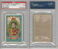 T98 LeRoy Cigars, Rulers of the World, 1900, Japan, PSA 1