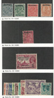 Burma, Postage Stamp, #1, 3, 5-6, 12, 34, 35//45 Used, 1937-45