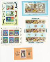 Barbuda, Postage Stamp, #262a, 265, 289, 348 Mint NH Sheets. 1977-78