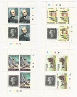 Barbuda, Postage Stamp, #380-1, 383-4 Mint NH Sheets, 1979 Rowland Hill