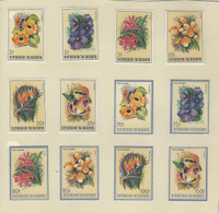 Burundi, Postage Stamp, #633-8, C289-94 Mint Hinged Set, 1986 Flowers (p)