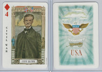 1973 US Games, American Historical Cards, Diamond 4, John Brown
