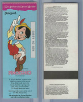 1990 Walt Disney, 35th Anniversary Dream Machine, Pinocchio