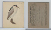 V339-2 Parkhurst, Audubon Society Birds, 1952, #51 B. Crowned Night Heron