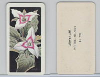 FC34-4 Brook Bond, Wild Flowers NA, 1961, Printer Proof, #10 Painted Trillium