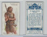 P72-15 Player, Arms & Armour, 1909, #1 Ancient British Warrior