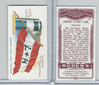 I0-0 Imperial, Flags & Funnels Steamship Lines, 1997, #13 Lamport & Holt