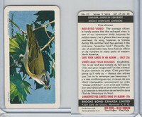 FC34-10 Brook Bond, Canadian/Am. Songbirds, 1966, #27 Red-Eyed Vireo