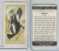 FC34-1 Brook Bond, Songbirds North America, 1959, #20 Bobolink