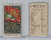 N10 Allen & Ginter, Flags of all Nations, 1890, Austrian Italy