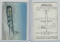 F270-1 Carnation Corn Flakes, Aircraft Recognition, 1952, Boeing C-97A