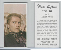 1963 Mister Softee's, Top 20, #2 Adam Faith