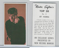 1963 Mister Softee's, Top 20, #3 Jet Harris