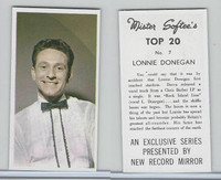 1963 Mister Softee's, Top 20, #7 Lonnie Donegan