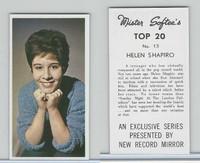 1963 Mister Softee's, Top 20, #13 Helen Shapiro
