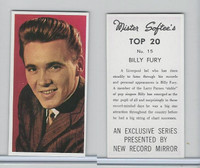 1963 Mister Softee's, Top 20, #15 Billy Fury