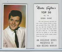 1963 Mister Softee's, Top 20, #18 Eden Kane