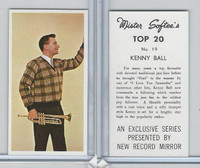 1963 Mister Softee's, Top 20, #19 Kenny Ball