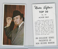 1963 Mister Softee's, Top 20, #20 Acker Bilk