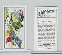 P0-0 Primrose Confectionery, Superman, 1967, #1 Man V. Plane