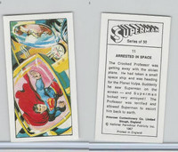 P0-0 Primrose Confectionery, Superman, 1967, #11 Space