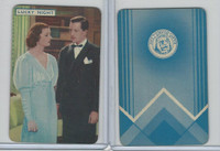 1939 Film Fantasy Card Game, Lucky Night, Myrna Loy, Robert Taylor, (A)