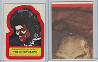 1980 Universal, Monster Hall Of Fame Stickers, #4 The Hunchback
