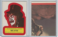 1980 Universal, Monster Hall Of Fame Stickers, #5 Mr. Hyde