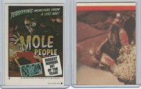1980 Universal, Monster Hall Of Fame Stickers, #8 Mole People