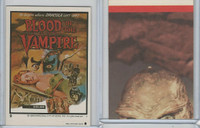 1980 Universal, Monster Hall Of Fame Stickers, #9 Blood Of The Vampire