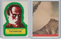 1980 Universal, Monster Hall Of Fame Stickers, #16 The Phantom