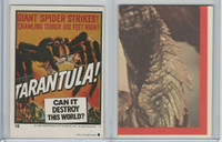 1980 Universal, Monster Hall Of Fame Stickers, #18 Tarantula