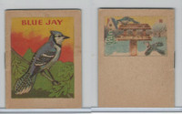 1941 John Eggers, Bird Booklets, Blue Jay