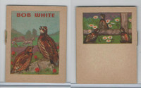 1941 John Eggers, Bird Booklets, Bob White
