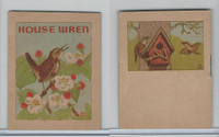 1941 John Eggers, Bird Booklets, House Wren