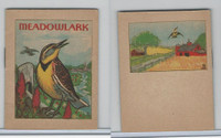 1941 John Eggers, Bird Booklets, Meadowlark